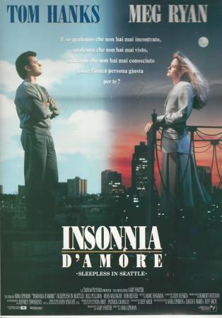 "1993 * Movie Playbill ""Sleepless in Seattle - Tom Hanks"""