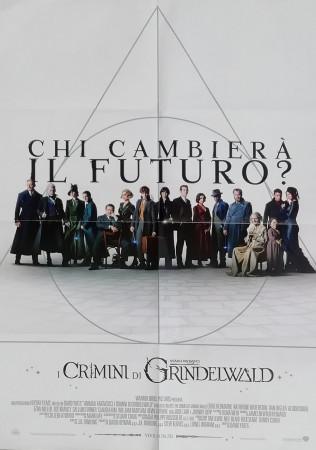 """2018 * Cinema Poster Original """"Fantastic Beasts: The Crimes of Grindelwald - Warner Bros"""""""