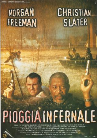 "1998 * Movie Playbill ""Hard Rain - Morgan Freeman"""