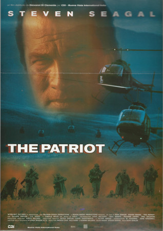 "1998 * Movie Playbill ""The Patriot - Steven Seagal"""