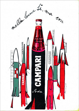 "1966 (2000) * Poster Advertising ""CAMPARI Soda, Luna - Franz Marangolo"" Medium (A)"