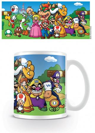 "Cup Mug * Videogames & Internet ""Nintendo Super Mario"" Official Merchandise (MG24482)"