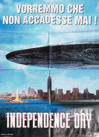 "1996 * Cinema Poster Original ""Independence Day - 20th Century Fox"""