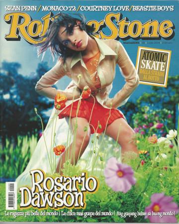 """2004 (N9) * Magazine Cover Rolling Stone Original """"Rosario Dawson"""" in Passepartout"""