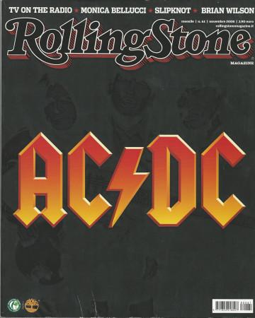 "2008 (N61) * Magazine Cover Rolling Stone Original ""AC/DC"" in Passepartout"