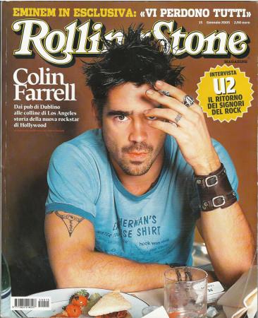 """2005 (N15) * Magazine Cover Rolling Stone Original """"Colin Farrell"""" in Passepartout"""