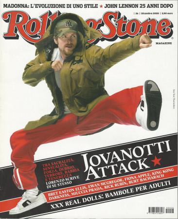 "2005 (N26) * Magazine Cover Rolling Stone Original ""Jovanotti"" in Passepartout"