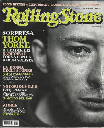 "2006 (N33) * Magazine Cover Rolling Stone Original ""Thom Yorke"" in Passepartout"