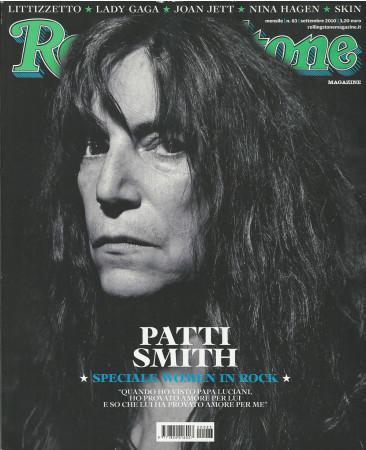 """2010 (N83) * Magazine Cover Rolling Stone Original """"Patti Smith"""" in Passepartout"""