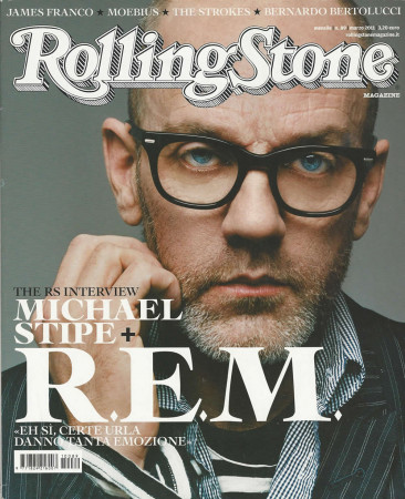 "2011 (N89) * Magazine Cover Rolling Stone Original ""Michael Stipe"" in Passepartout"