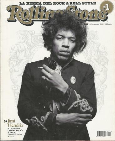"2003 (N1-4) * Magazine Cover Rolling Stone Original ""Jimi Hendrix"" in Passepartout"