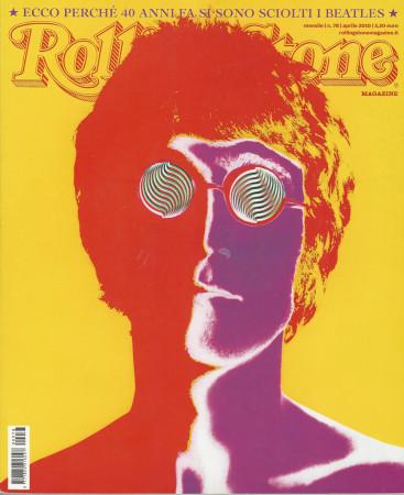 "2010 (N78) * Magazine Cover Rolling Stone Original ""John Lennon"" in Passepartout"