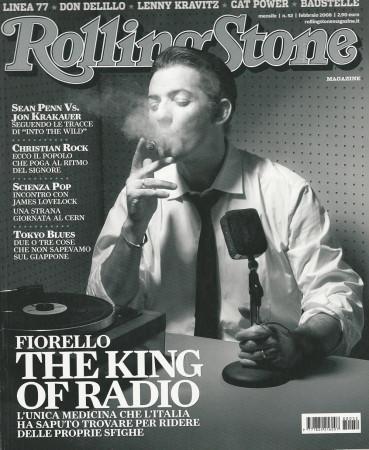 "2008 (N52) * Magazine Cover Rolling Stone Original ""Fiorello"" in Passepartout"