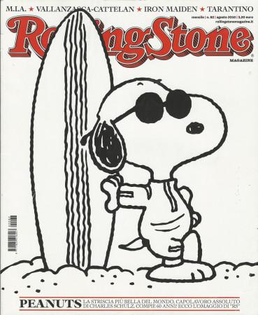 "2010 (N82) * Magazine Cover Rolling Stone Original ""Peanuts"" in Passepartout"