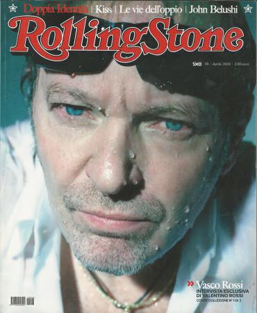 """2004 (N6) * Magazine Cover Rolling Stone Original """"Vasco Rossi"""" in Passepartout"""