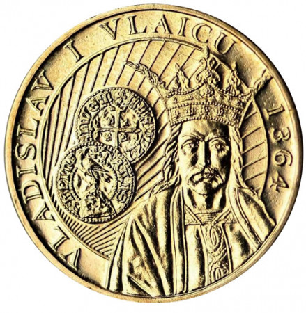 "2014 * 50 Bani Romania ""650th Reign of Vladislav I Vlaicu"""