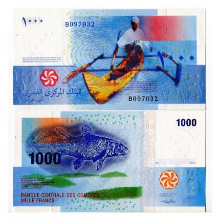 2005 * Banknote Comoros 1000 Francs (p16) UNC