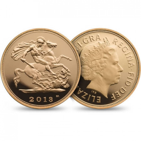 2013 * Gold sovereign Great Britain