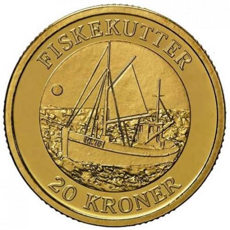 2012 * 20 kroner Denmark Fishing Vessel