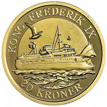 2012 * 20 kroner Denmark King Frederick IX