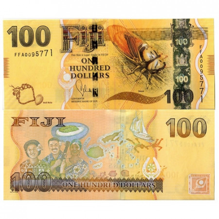 2012 * Banknote Fiji 100 Dollars (p119) UNC