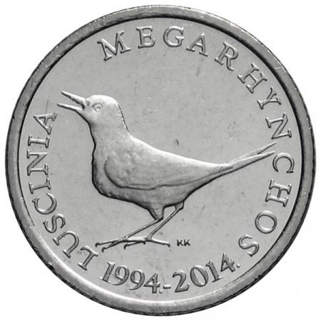 """2014 * 1 Kuna Croatia """"20th Kuna Currency"""""""