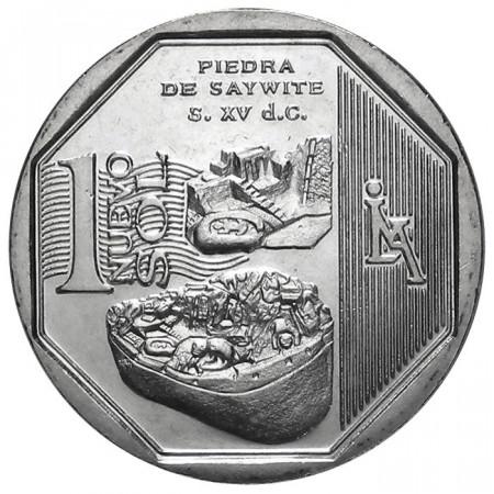 2012 * 1 Nuevo Sol Peru Stone of Saywite