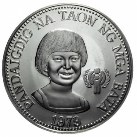 1979 * 50 Piso Philippines Years of child