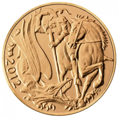 2012 * Gold sovereign Great Britain 60 years reign
