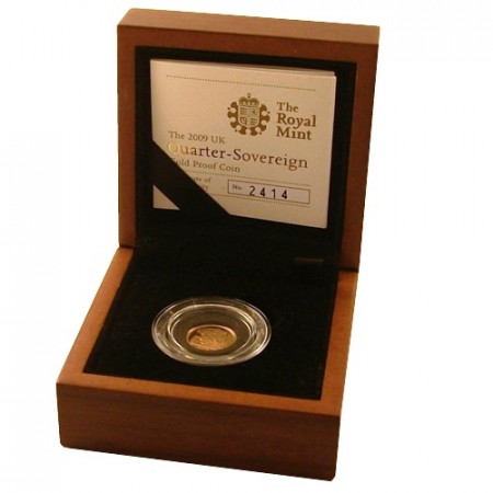 2009 * 1/4 Gold sovereign Great Britain proof