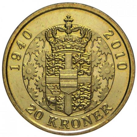 2010 * 20 kroner Denmark Queen Margrethe II
