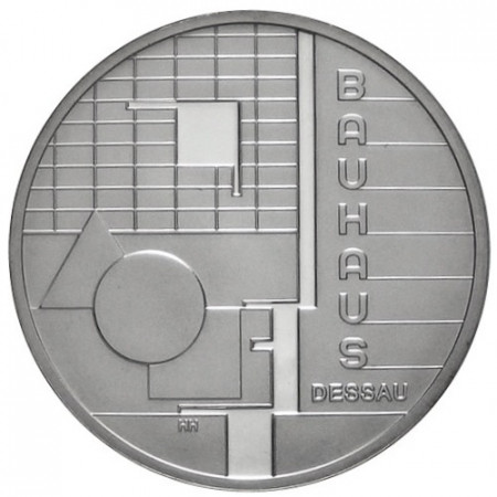 2004 * 10 euro GERMANY Architecture in Dessau proof