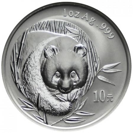 2003 * 10 Silver Yuan 1 OZ China Panda