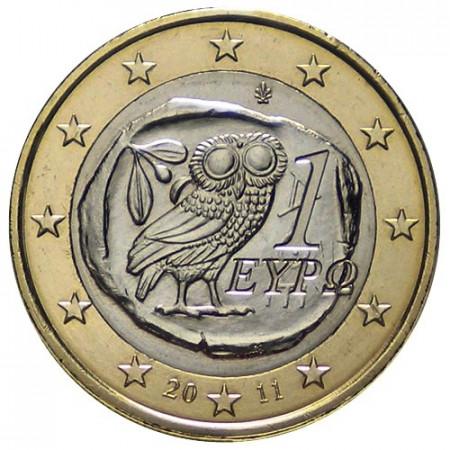 2011 * 1 euro GREECE Little Owl