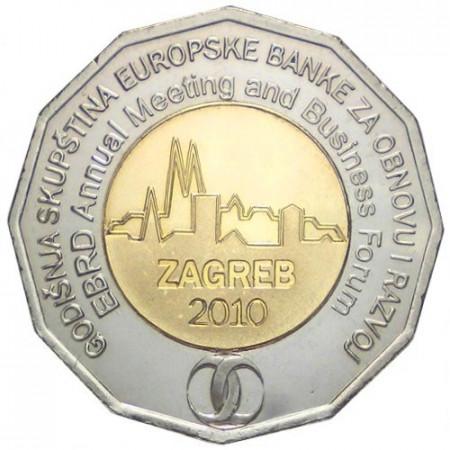 2010 * 25 kuna Croatia EBRD Annual Meeting