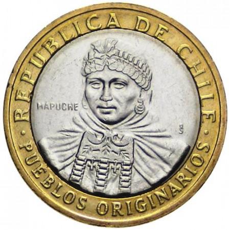 2006 * 100 pesos Chile Native People Mapuche