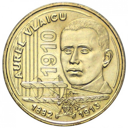 2010 * 50 bani Romania Aurel Vlaicu