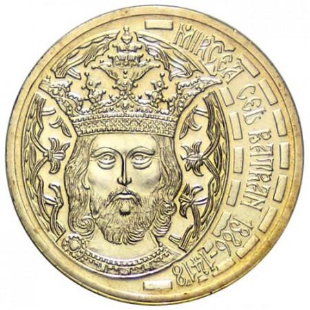 2011 * 50 bani Romania Mircea the Old