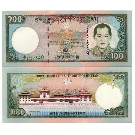 2000 * Banknote Bhutan 100 ngultrum UNC