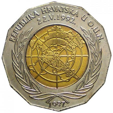 "1997 * 25 Kuna Croatia ""Admission into the UN"""