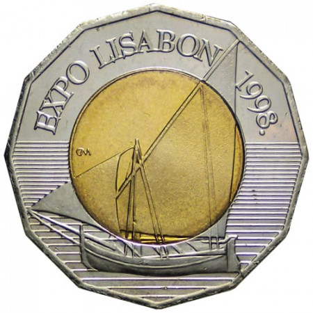 """1998 * 25 Kuna Croatia """"Expo Lisabon '98"""""""