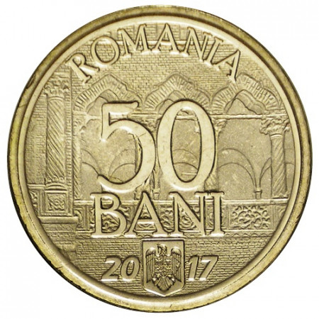 """2017 * 50 Bani Romania """"Accession to the European Union"""" UNC"""