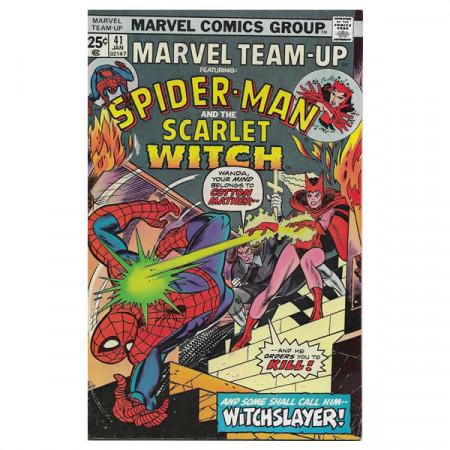 "Comics Marvel #41 01/1976 ""Marvel Team-Up ft Spiderman - The Scarlet Witch"""