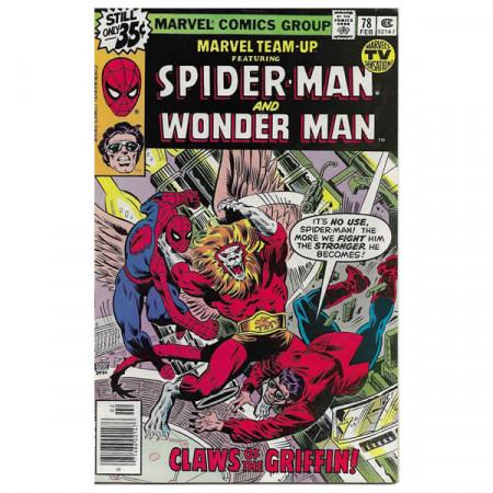 """Comics Marvel #78 02/1979 """"Marvel Team-Up ft Spiderman - Wonder Man"""""""