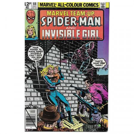 "Comics Marvel #88 12/1979 ""Marvel Team-Up Spiderman - Invisible Girl"""