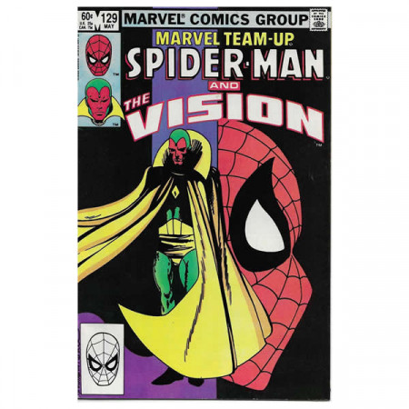 "Comics Marvel #129 05/1983 ""Marvel Team-Up Spiderman - Vision"""