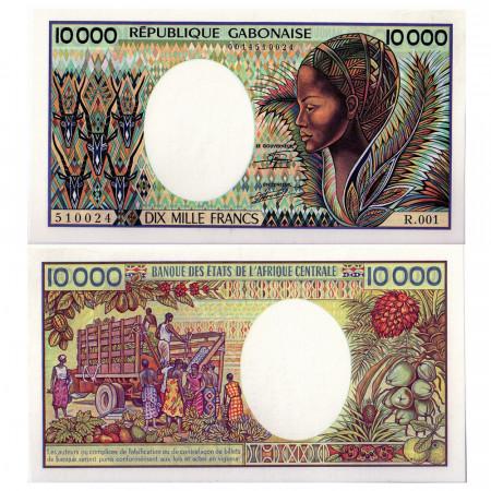 1984 * Banknote Gabon 10000 francs UNC