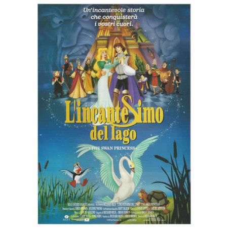 "1994 * Movie Playbill ""The Swan Princess - Angel Studios"" Fantasy Anime"