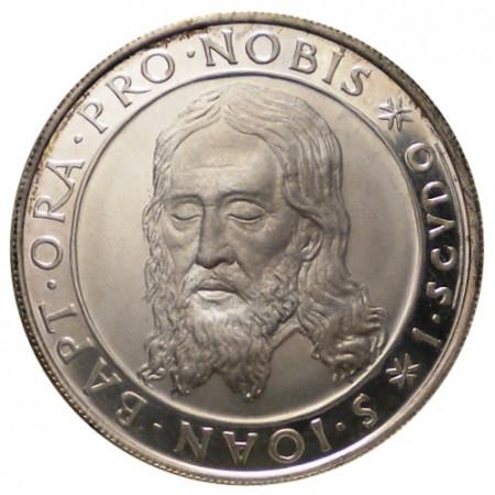 """1964 * 1 Scudo Silver Order of Malta (SMOM) """"St. John The Baptist"""" (X 9) UNC"""
