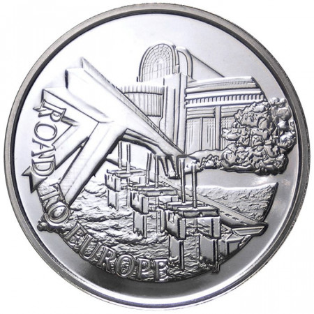 2003 * Medal silver BENELUX Construction of the Benelux